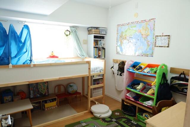 子ども部屋全体(入り口から見たところ)